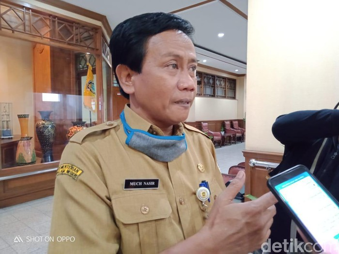 Kepala Dinas Sosial Pemberdayaan Perempuan Perlindungan Anak dan KB Pemkab Klaten, Much Nasir, Rabu (12/5/2020).