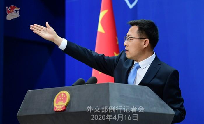 Jubir Menlu RRC, Zhao Lijian (Dok Kemlu RRC)