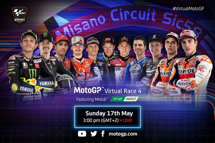 Valentino Rossi, MotoGP Virtual Race