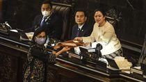 Momen DPR Setujui Perppu Corona Jadi UU