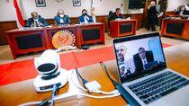 Sidang Paripurna Virtual DPD RI Dibuka Ucapan Belasungkawa ke Tim Medis