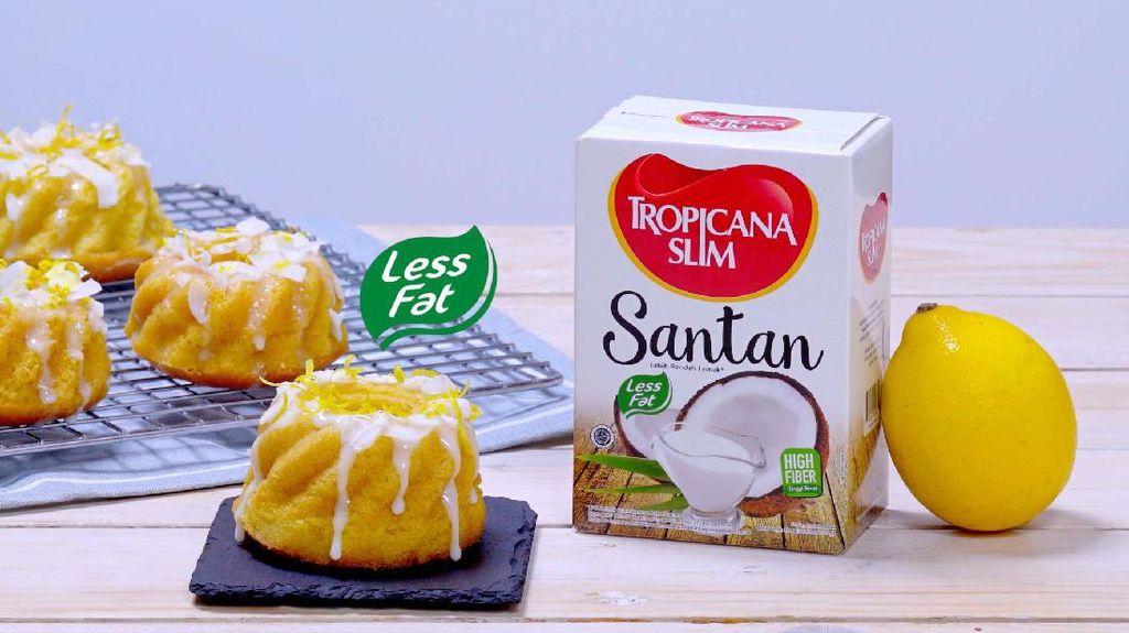 Yummy! Yuk Cobain Menu Camilan Rendah Lemak: Kue Lemon Kelapa