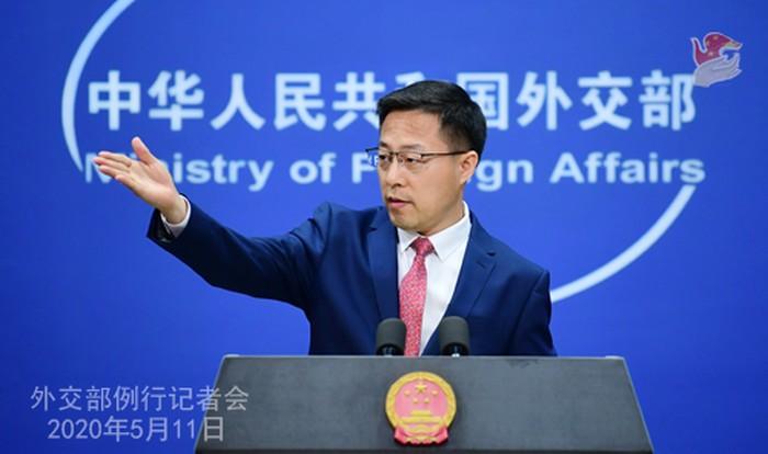Juru Bicara Kemlu China, Zhao Lijian (Situs Kemlu RRC)