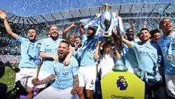 Mengenang Man City Saat Juara Liga Inggris 2017/2018: Bergelimang Rekor