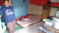 4 Orang Sekeluarga Hidup dalam Bekas Warung di Tegal Tak Tersentuh Bantuan