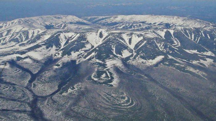 Pegunungan Kondyor Massif di Siberia