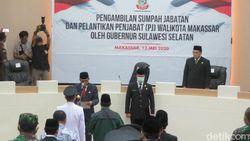 Gubernur Sulsel Lantik Yusran Jadi Pj Walkot Makassar