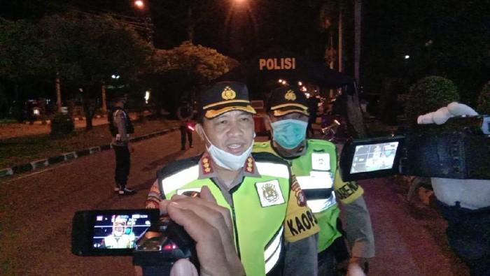 Kota Palangka Raya memberlakukan jam malam selama pelaksanaan PSBB. Pelanggar akan dikenai sanksi (dok. Istimewa)