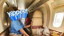 Viral Kisah Miliuner di Malaysia Terbang Naik Jet Pribadi Cuma Buat Beli Kue