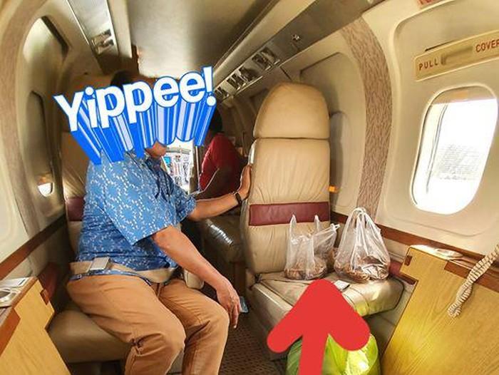 miliuner naik jet pribadi