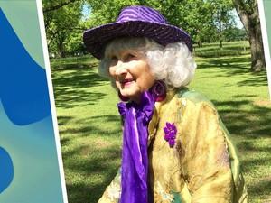 Nenek 91 Tahun Jadi Sensasi di Youtube, Fashion Show di Belakang Rumah