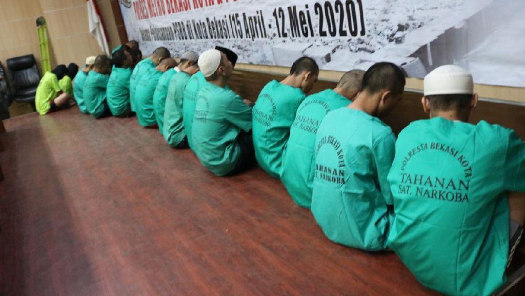 Polisi Ungkap 26 Kasus Narkoba Selama PSBB di Bekasi, 2 di Check Point
