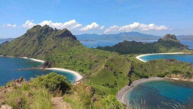 Pulau Padar di NTT.
