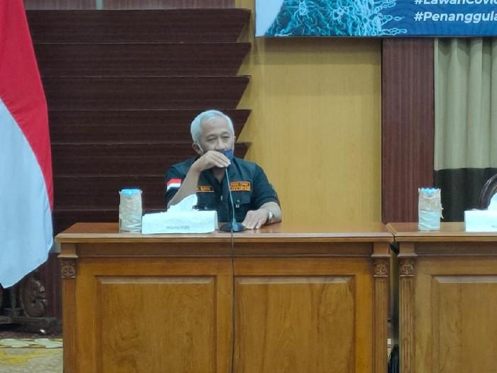 Direktur RSJ Menur dr Moch Hafidin Ilham SpAn