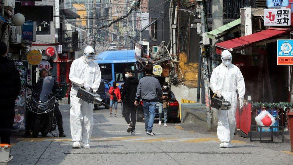 Kasus Corona Kembali Naik, Korsel Perketat Pembatasan Cegah Gelombang Kedua