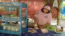 Curahan Hati Pedagang di Alas Roban Pantura Sepi Tanpa Pemudik