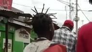 Gaya Rambut Virus Corona Populer di Kenya