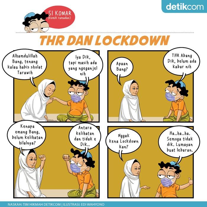 Komik Ramadhan, THR dan LockDown