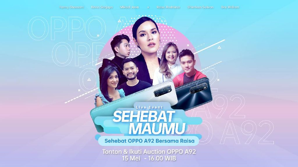 OPPO Gelar Live Event Digital Bareng Raisa