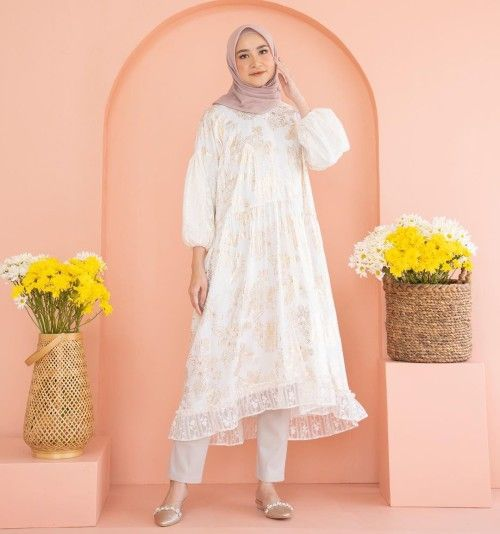 Rekomendasi dress Lebaran