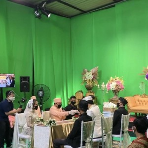 Viral Pernikahan Virtual Pengantin di Yogyakarta, Fakta Sebenarnya Ternyata...