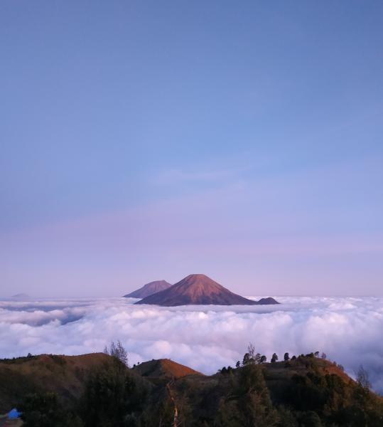 Gunung Prau di Wonosobo.