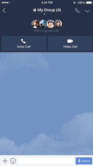 Line Video Panggilan.