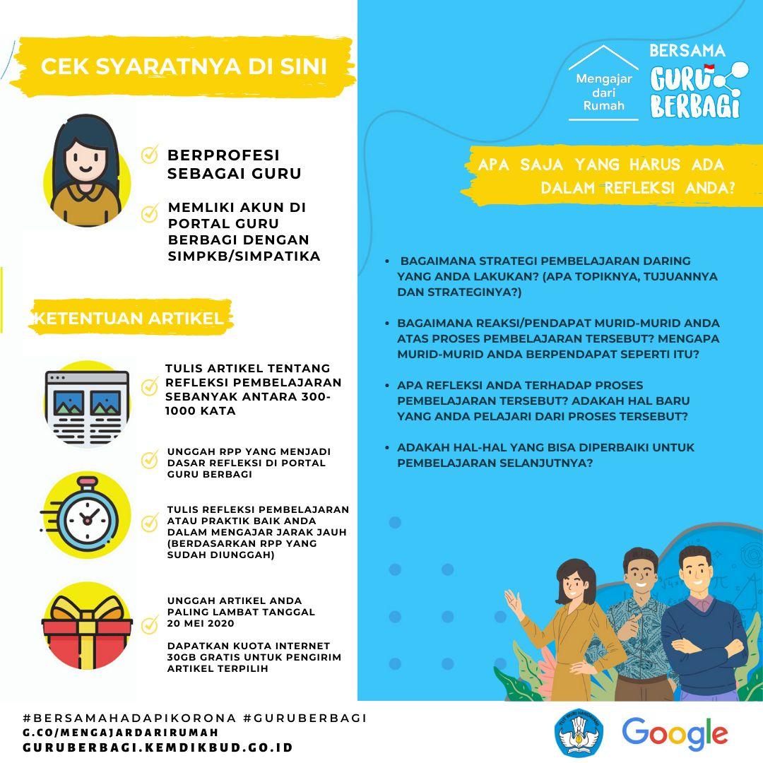 Google Kemdikbud Bagi-bagi Kuota