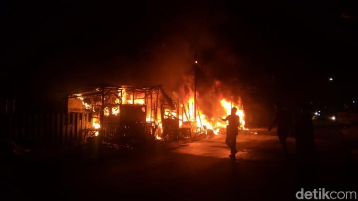 Kebakaran di Bandung Barat