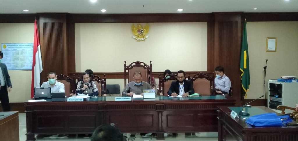 Rapat pembahasan perdamaian lanjutan yang diajukan KCN