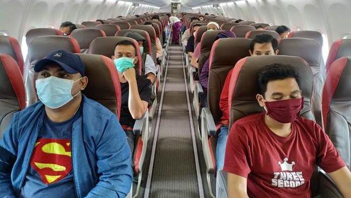 Penumpang pesawat Batik Air (Dokumentasi Batik Air)