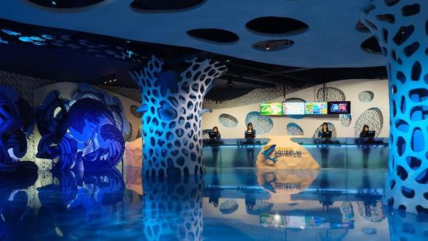 Objek wisata edukasi Jakarta Aquarium di Jakarta Barat telah kembali beroperasi pada Sabtu 20 Juni lalu. Setelah beberapa bulan tutup akibat COVID-19(dok Jakarta Aquarium)