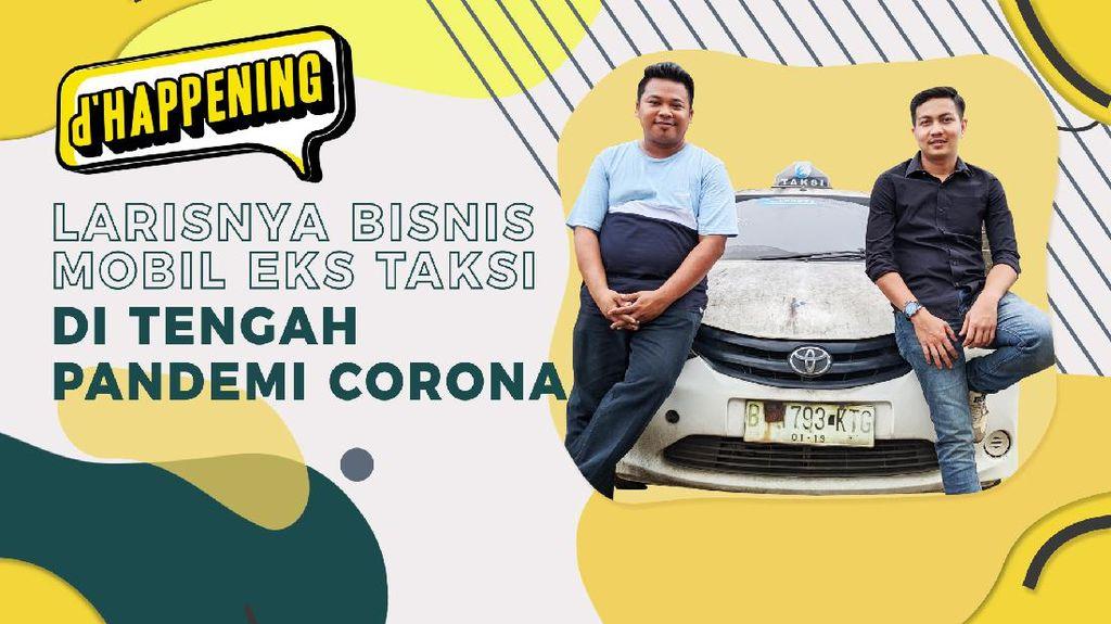 Tetap Cuan Saat Corona Lewat Bisnis Eks Taksi