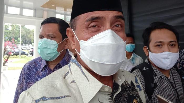 Gubernur Sumatera Utara (Gubsu) Edy Rahmayadi. (Foto: Ahmad Arfah/detikcom)