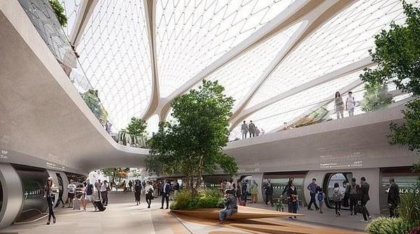 Dengan Hyperloop, traveler bisa berpergian ke banyak kota di Eropa dalam waktu yang singkat. Dari Amsterdam ke Eindhoven cuma 15 menit, lanjut ke Dusseldorf cuma 30 menit dan ke Brussels kurang dari 1 jam saja. (dok. Hardt Hyperloop)