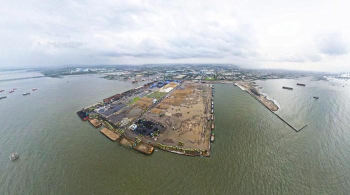 Kondisi Pelabuhan Marunda yang dikelola KCN