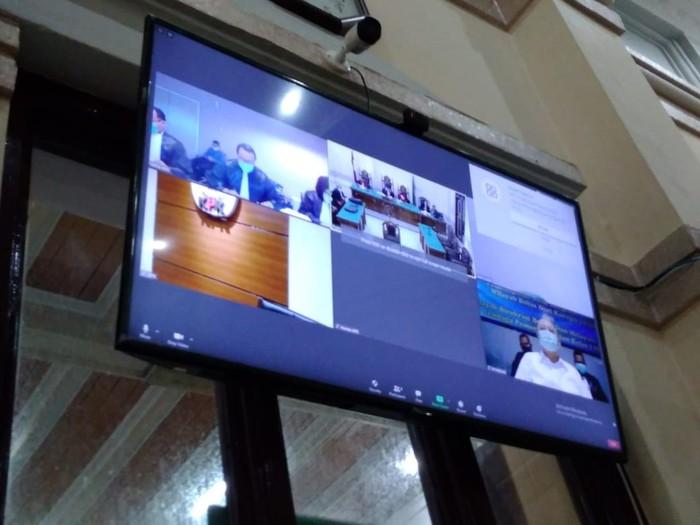 Sidang tuntutan Wali Kota Medan nonaktif Dzulmi Eldin (Datuk Haris-detikcom)