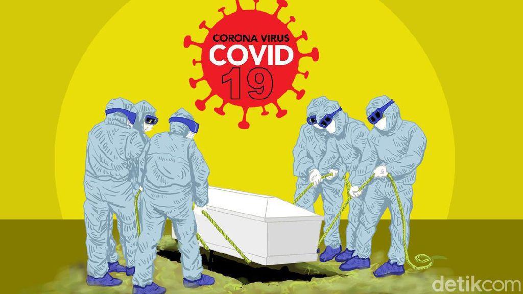 Ambulans Diancam Dibakar, Jenazah COVID-19 Dimakamkan Tanpa Protokol Corona