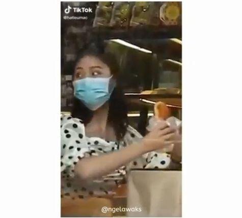 Makan Pakai Masker
