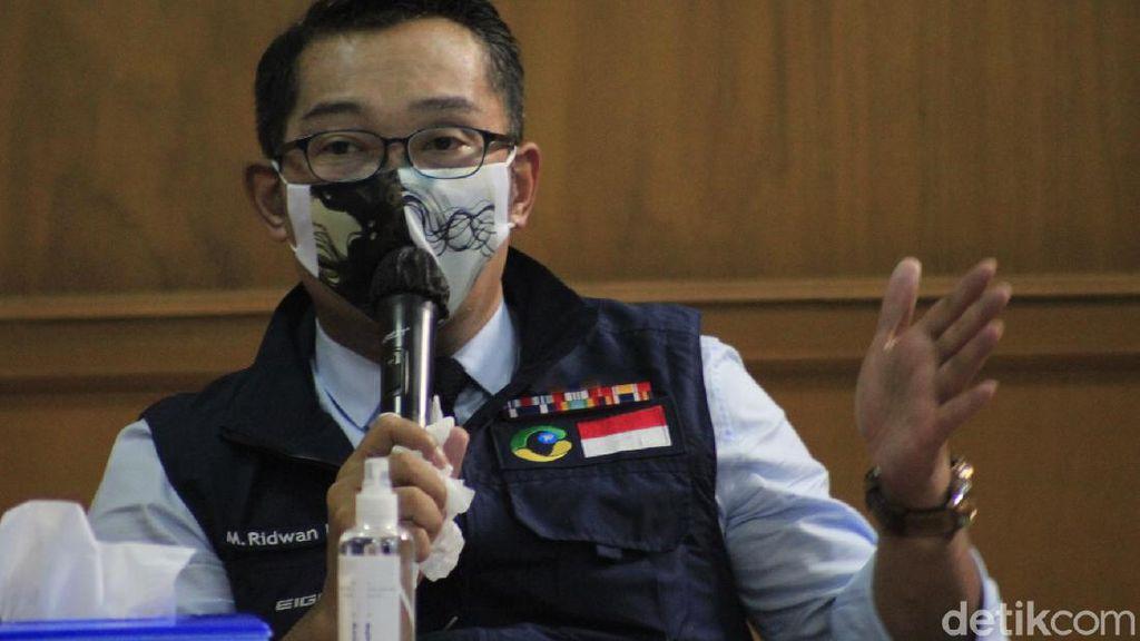 Hari Ini Kasus COVID-19 di Jabar 962 Orang, Ridwan Kamil: Mayoritas Secapa AD
