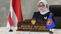 Usulan Menaker soal Roadmap Pascacorona untuk ASEAN