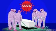 Miris Jenazah PDP Corona Jatuh Saat Dikuburkan karena Faktor Petugas Kelelahan