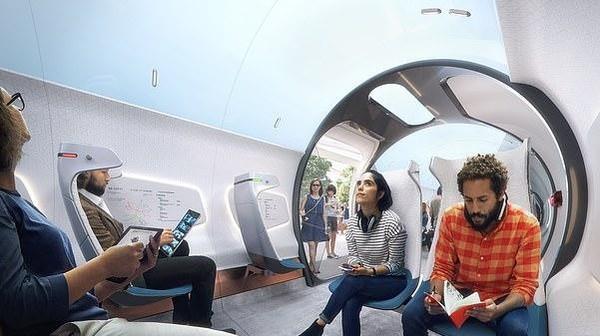 Wajar, karena Hyperloop bisa mencapai kecepatan 997 km/jam. Hyperloop juga bisa mengangkut 200 ribu penumpang dalam sekali perjalanan. (dok. Hardt Hyperloop)