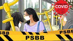PSBB Diperpanjang 14 Juni, Wali Kota Tangsel Cek Persiapan Mal-Tempat Ibadah