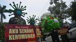 Foto Perjalanan 6 Bulan Corona di Indonesia dan Penanganannya