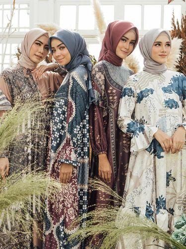 Rekomendasi dress lebaran dari wearingklamby