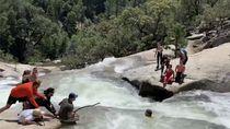 Salah Perhitungan, Pendaki Ini Terjerumus ke Pusaran Air Sungai
