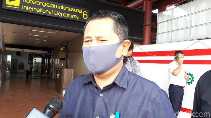Executive General Manager Bandara Internasional Soekarno-Hatta, Agus Haryadi (Yogi Ernes/detikcom)