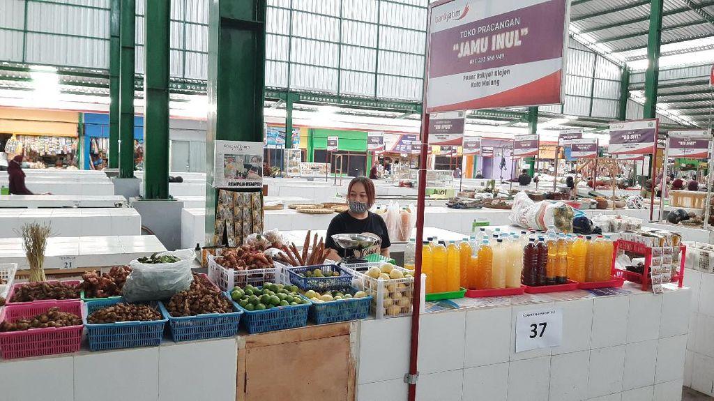 PSBB Malang Raya, Pasar Tradisional Terapkan Ganjil-Genap