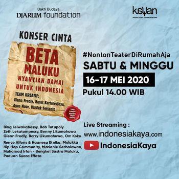 Pertunjukan Musikal 'Beta Maluku'